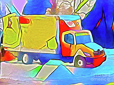Photograph - Trucks For Kids Print 1 by Nina Silver
