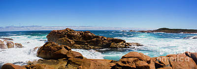Beach Royalty-Free and Rights-Managed Images - True blue Aussie coastline by Jorgo Photography - Wall Art Gallery