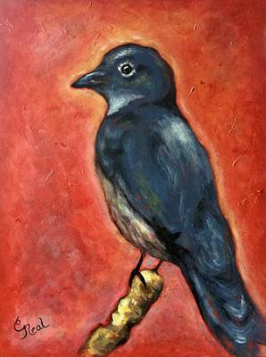 Painting - True Blue by Carol Neal