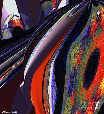 Mixed Media - True Colors by Elfriede Fulda