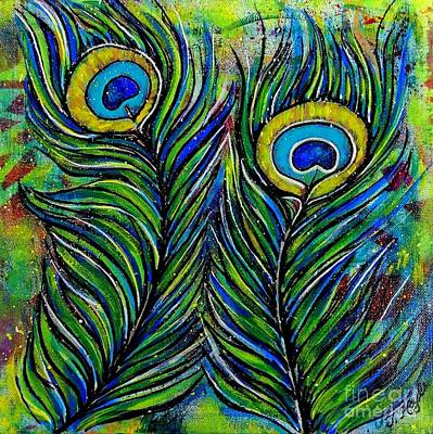 Mixed Media - True Colors by Julie Hoyle