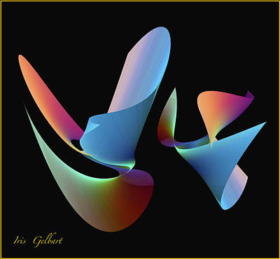 Digital Art - True Colours by Iris Gelbart