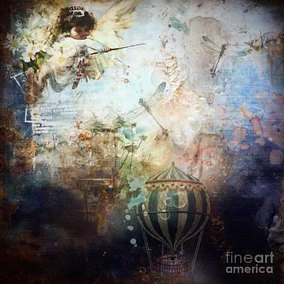 Digital Art - True Faith by Monique Hierck