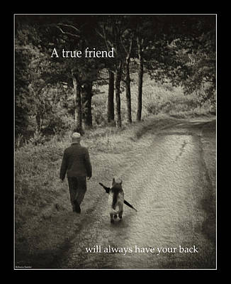 Photograph - True Friend by Rebecca Samler