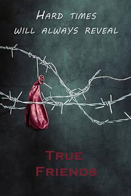 True Friends Art Print by Joana Kruse