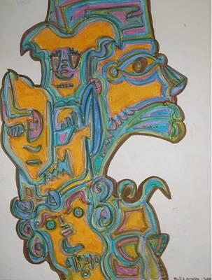 True Gold Art Print by Philip Arnzen-Jones