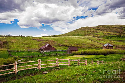 Photograph - True Grit Ranch by Imagery by Charly