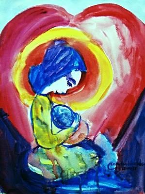 Painting - True Love #3 by Wanvisa Klawklean
