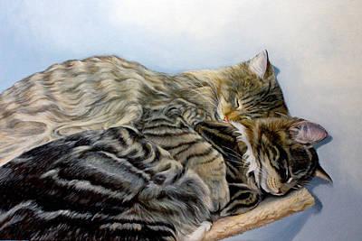 True Love Art Print by Susana Falconi