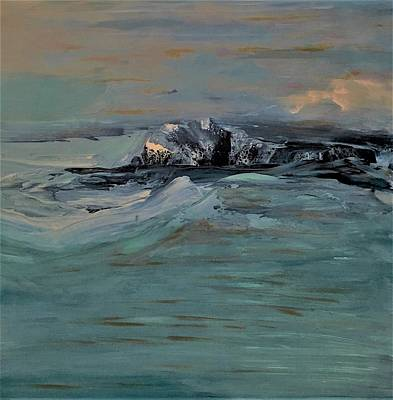 Abstract Painting - True North by Soraya Silvestri