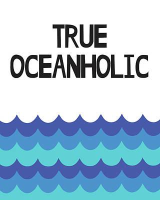Freedom Mixed Media - True Oceanholic by Studio Grafiikka