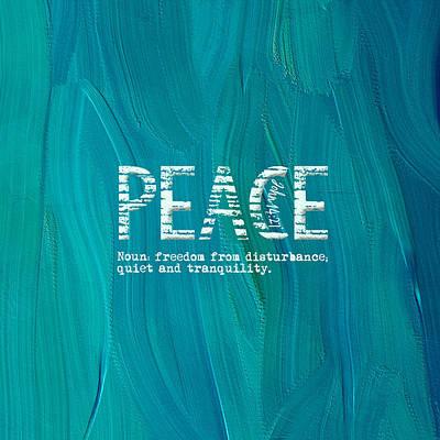 Digital Art - True Peace by Bonnie Bruno