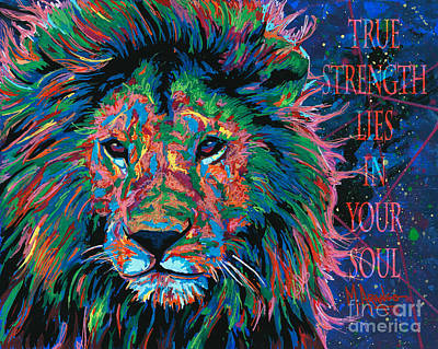 True Strength Art Print