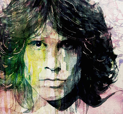 The Doors Painting - True To His Self by Paul Lovering