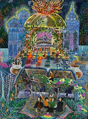Trueno Ayahuasca  Art Print