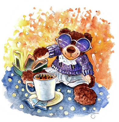 Painting - Truffle Mcfurry Incognito In Wales by Miki De Goodaboom
