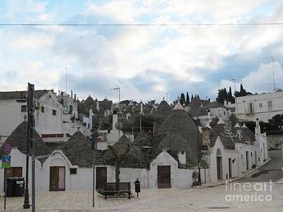 Photograph - Trulli Village Alberobello by Laurie Morgan