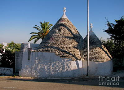 Photograph - Trullo, Puglia by Italian Art