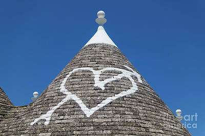 Photograph - Trullo Roof In Alberobello by IPics Photography