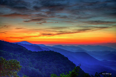 Photograph - Why The Name Pretty Place Chapel Great Smoky Mountains Art by Reid Callaway