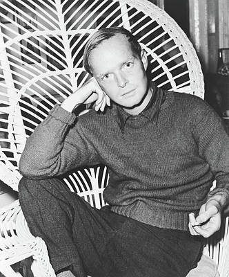 Photograph - Truman Capote 1958 by Library Of Congress