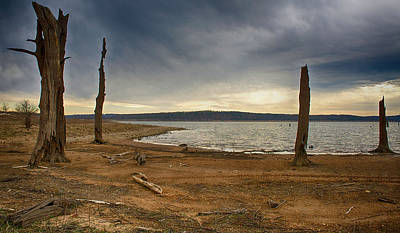 Photograph - Truman Lake Morning by Linda Shannon Morgan