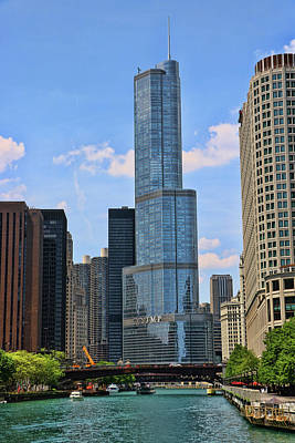 Photograph - Trump International Hotel And Tower # 5 by Allen Beatty