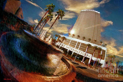 Photograph - Trump International Hotel In Las Vegas by Blake Richards