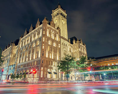Photograph - Trump International Hotel by Ray Devlin