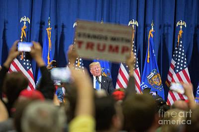 Photograph - Trump by Jim West