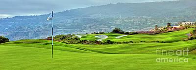 Photograph - Trump National Golf Club Palos Verdes Ca by David Zanzinger