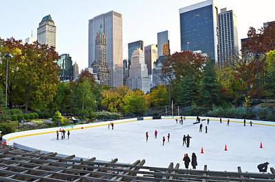 Photograph - Trump Skating Rink by Andrew Kazmierski