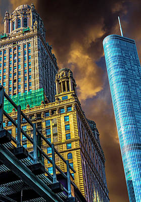 Jeweler Photograph - Trump Tower And The Jewelers Building Dsc4446 by Raymond Kunst
