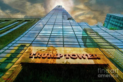 Photograph - Trump Tower by Blake Richards