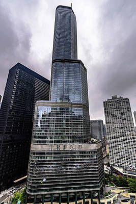 Photograph - Trump Tower Chicago by Randy Scherkenbach