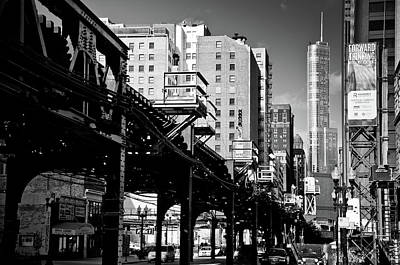 Railway Tracks Photograph - Trump Tower by George Imrie Photography