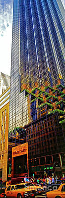 Photograph - Trump Tower New York City Manhattan Vertical  by Tom Jelen
