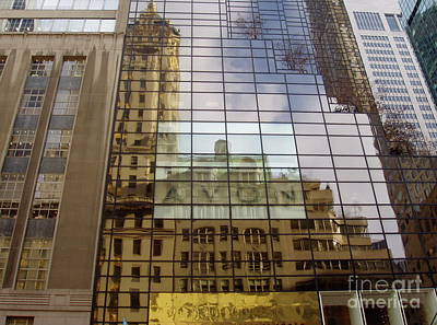 Photograph - Trump Tower Reflections by Carol  Bradley