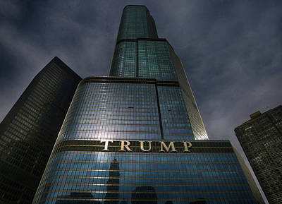 Photograph - Trump Towers To Trump With Power by Jerome Lynch