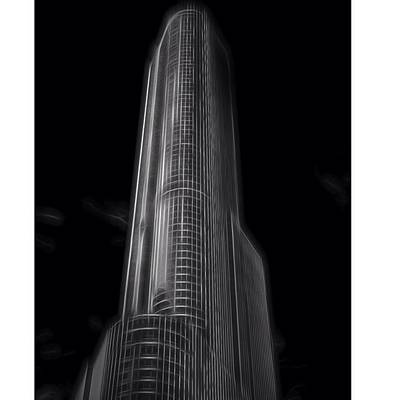 Bull Photograph - #trump #trumptower #trumpchicago by David Haskett