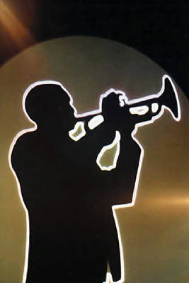 Trumpet - Classic Jazz Music All Night Long Art Print
