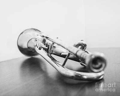 Trumpet 1 Art Print by Emily Kay