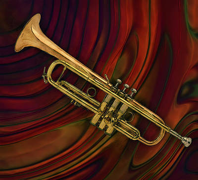 African-american Painting - Trumpet 2 by Jack Zulli