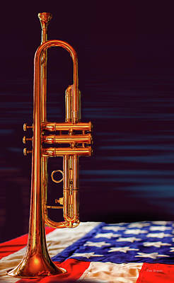 Photograph - Trumpet-close Up by Tim Bryan