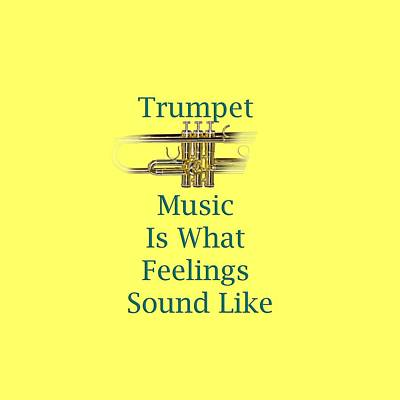 Photograph - Trumpet Is What Feelings Sound Like 5582.02 by M K Miller