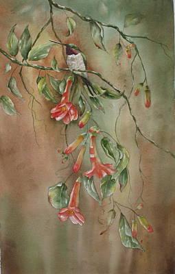 Trumpet Nectar Art Print