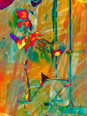 Trumpet Player Art Print by Dorothy Berry-Lound
