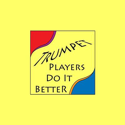 Photograph - Trumpet Players Do It Better 5652.02 by M K Miller