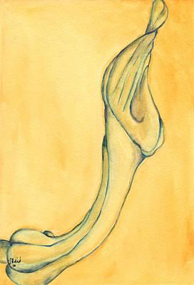 Painting - Trumpet Suspended by Versel Reid