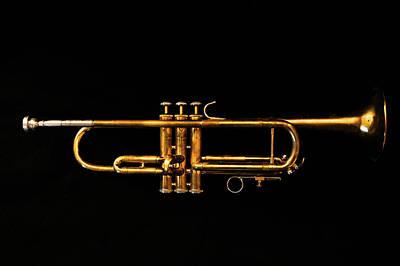 Trumpet Photograph - Trumpet Three by Sam Hymas